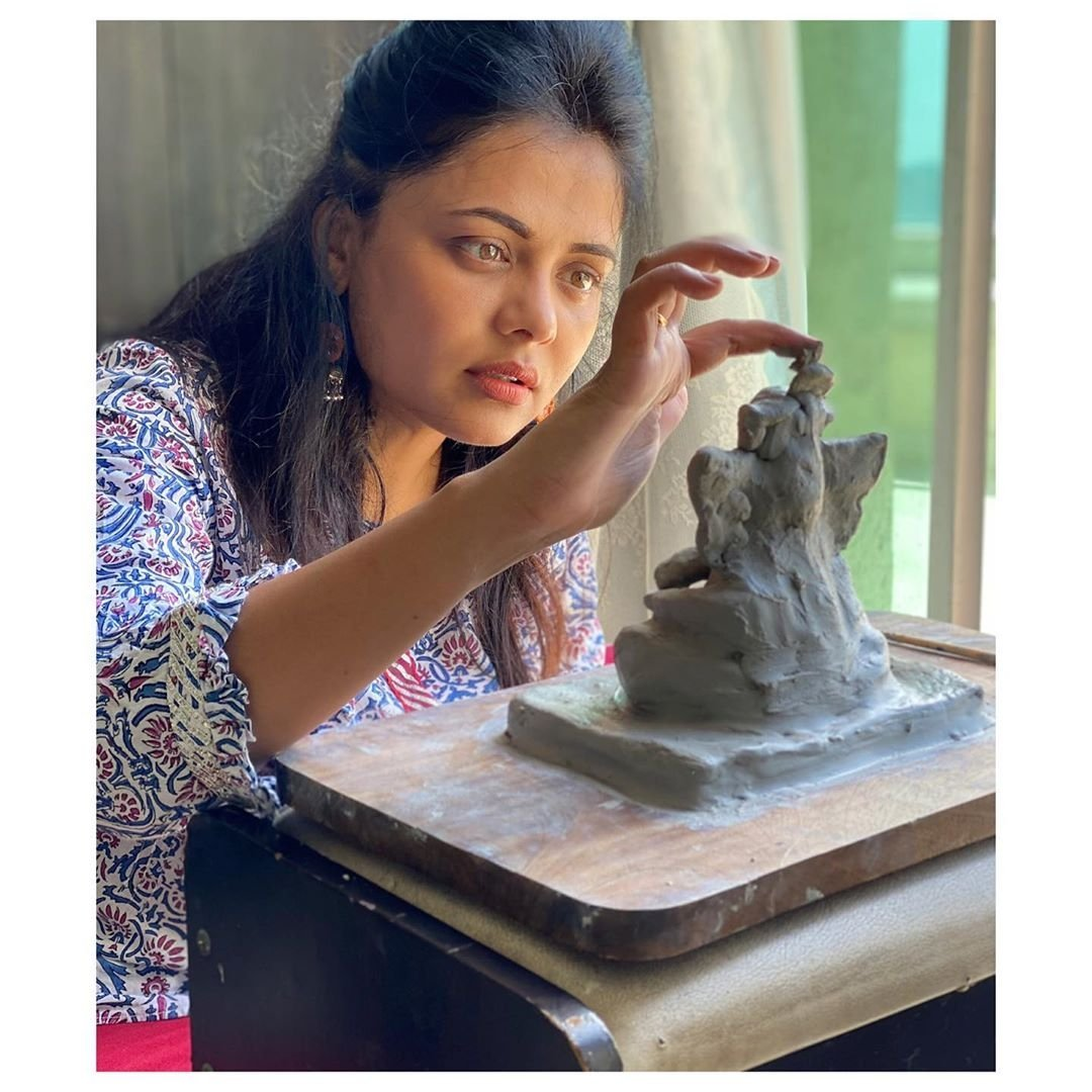 Art is the highest form of #HOPE and #ABUNDANCE... @PrarthanaBehere   #PrarthanaBehere #MarathiActress #Ganesha #GanpatiBappaMoraya #GanpatiBappaMorya #MarathiCelebs . . . For interesting entertainment updates, follow the page right now - @Marathi_Celebs .pic.twitter.com/E2UgzXYPk9