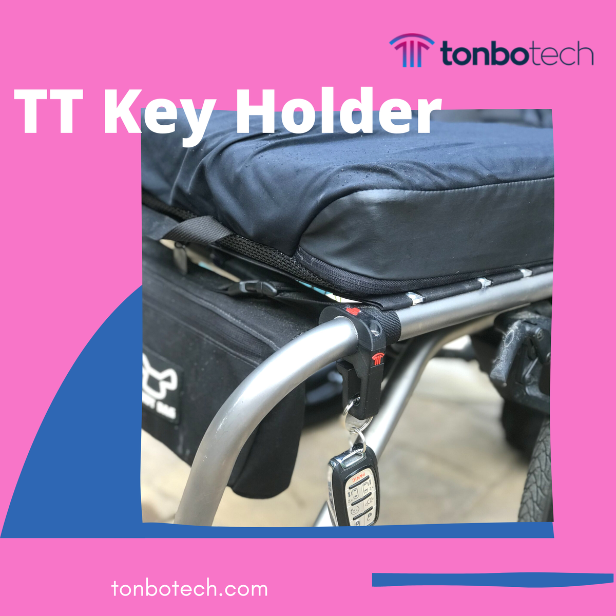 Tonbo Tech has designed a keyholder system to secure your keys while always keeping them handy.   Email us at info@tonbotech.com.  #wheelchairmodel #wheelchairsolutions #wheelchairlifestyle #wheelchairboy #design #dprinting #dprint #wheelchair #wheelchairlife #keyholder #usa https://t.co/w3njggTtjc