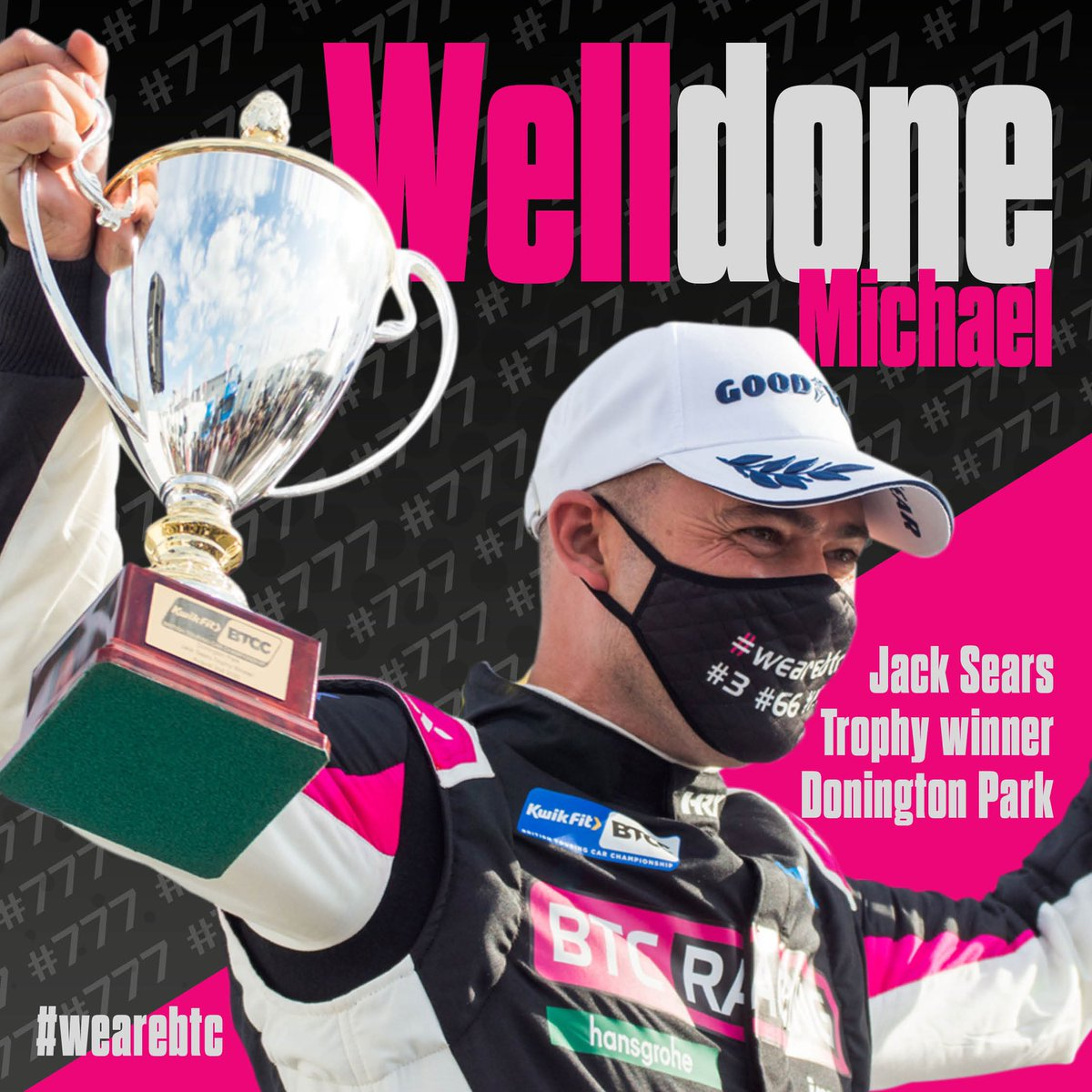 What a weekend this guy had.  1st time out in the FK8, 1st time out as part of the BTC Racing line-up & he picked up his 1st #BTCC silverware.   An outstanding debut in the Honda, & this is just the start.   Well done @Creesy777 we can't wait to see what follows 🏁🏆  #WeAreBTC https://t.co/bsajfmwYB6
