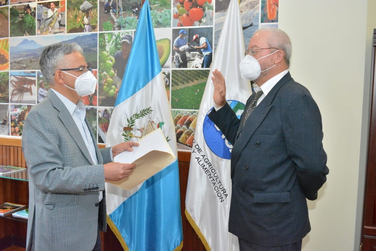 test Twitter Media - José Miguel Duro Tamasiunas, fue juramentado como viceministro de Desarrollo Económico Rural, del  Ministerio de Agricultura, Ganadería y Alimentación (MAGA). https://t.co/C8OU5Xt5p6