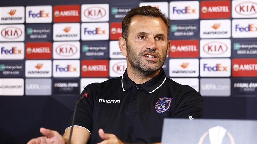 Medipol Başakşehir Teknik Direktörü Okan Buruk: İlk maçtan kazandığımız bir avantaj var https://t.co/cduec75dmF https://t.co/dwmgXJH35C