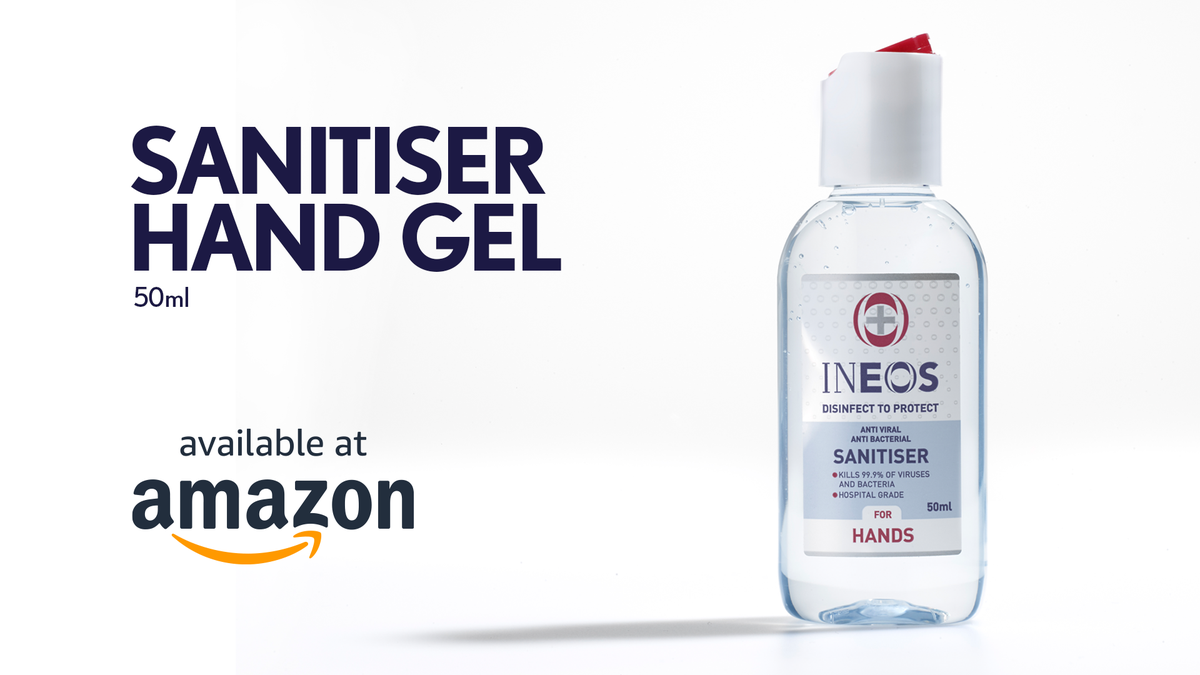 INEOS is the world's largest manufacturer of synthetic ethanol. It's produced specifically to meet specialist pharmaceutical requirements. This is what goes into INEOS Hygienics' highly effective sanitisers. You can buy it now only on Amazon. https://t.co/cvqOGenOEh https://t.co/hqT0Kzamdd