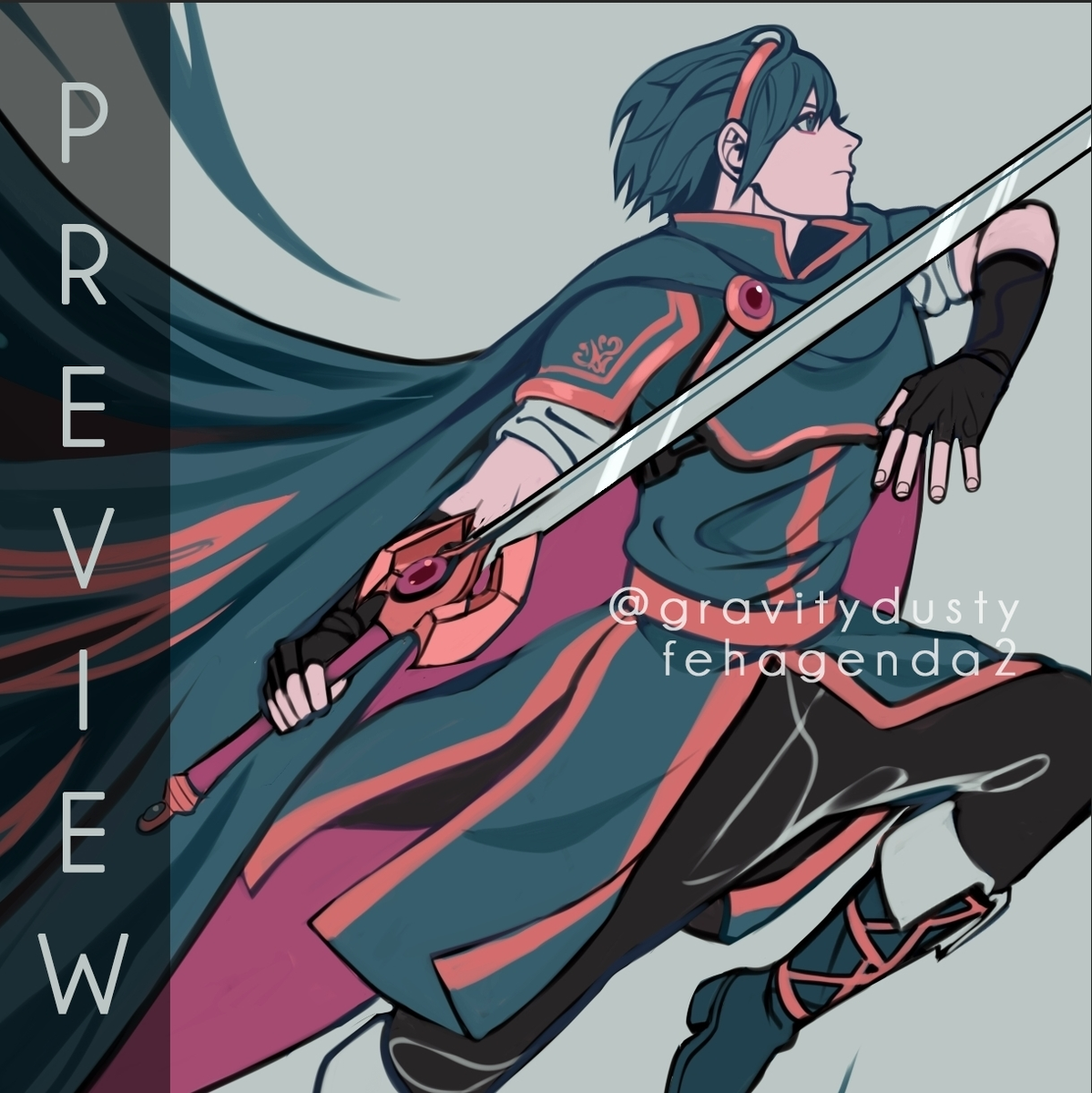 ✨Preview of the cover I had the honor of making for @fehplanner ✨ Please keep an eye out for preorders opening up soon!!