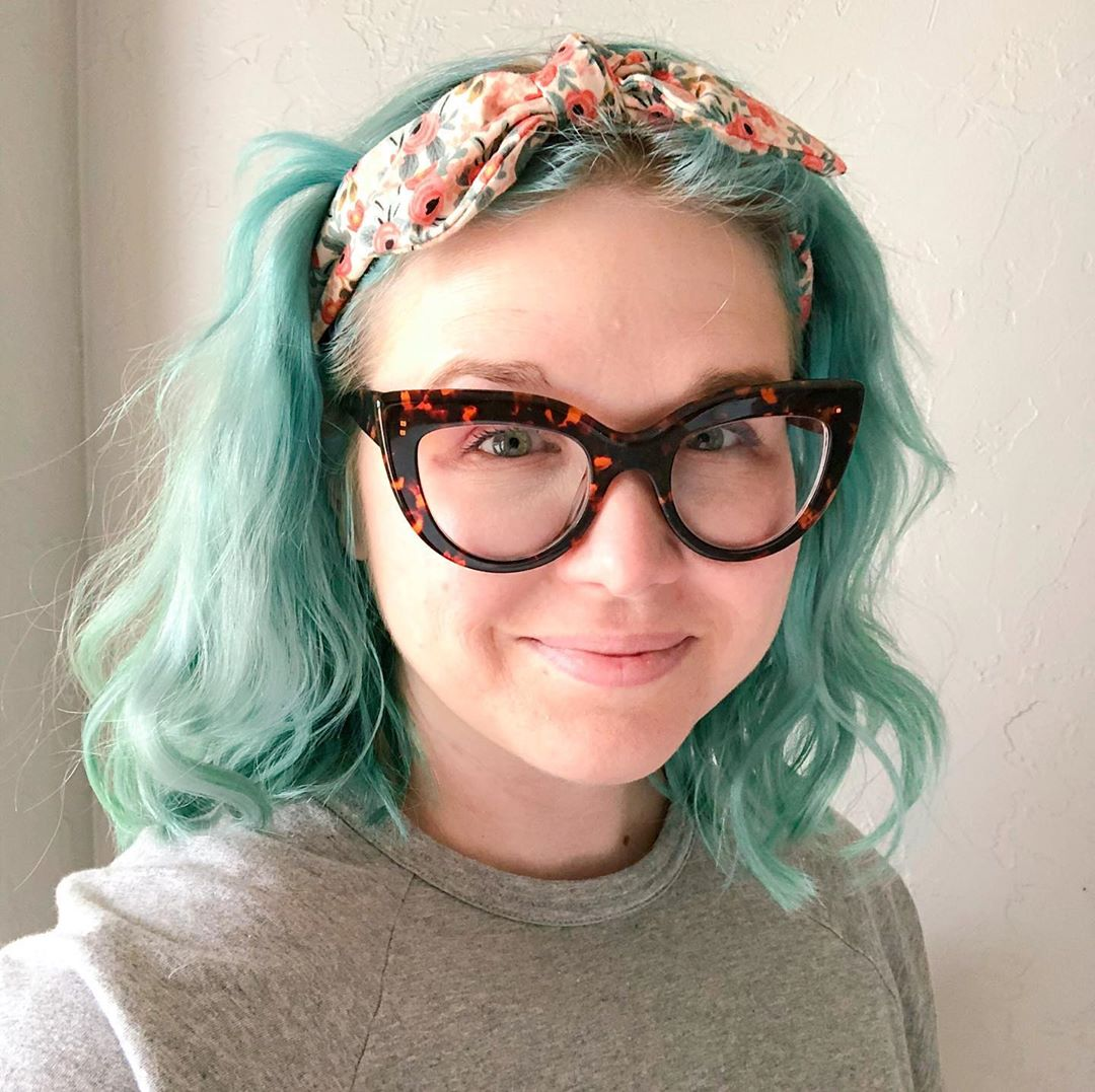 Go big or go home! These oversized cat-eye specs are perfect for every season. @helloquirkydesign wearing Style 4412625 in #Tortoiseshell. Shop: bit.ly/OversizedTorto…