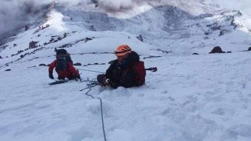 #Volcán #Chimborazo #Ecuador #trekking #hiking #snow #mountains 🇪🇨 https://t.co/6LDtgHYPn8