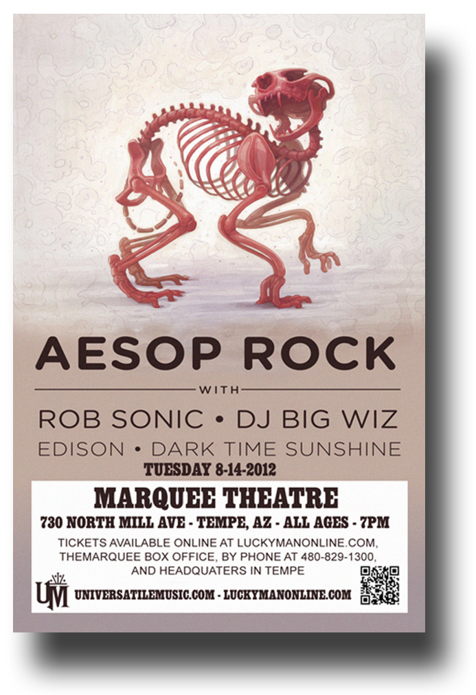 . #AesopRock Got a poster for an AZ Aesop rock show https://concertposter.org/product/aesop-rock-poster-concert-az-bones-11-x-17-inches-usa-sameday-ship/…pic.twitter.com/m8O7AD5Rcd