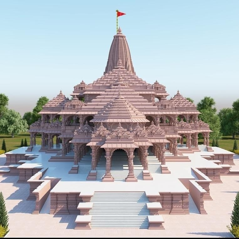 जहाँ राम का जन्म हुआ था मन्दिर वहीँ बनायेंगे। #AyodhyaRamMandir #AyodhyaBhoomipoojan #ShriRampic.twitter.com/XGBj6uz4od