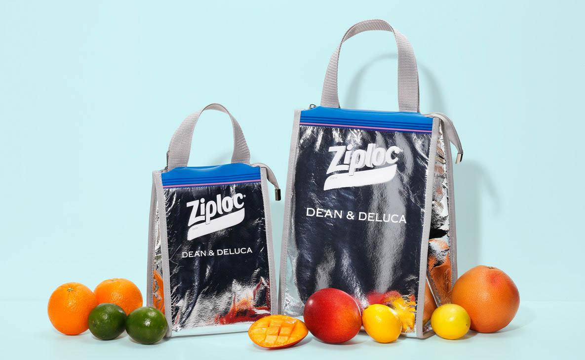 【話題記事】ビームスがジップロックとディーン&デルーカとトリプルコラボ。ショッパー型のクーラーバッグを発売します。