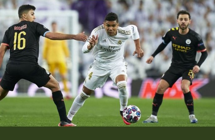 """""""Against Manchester city it's going to be fantastic and difficult team for both of us .Because of the result from first leg,its little more complicated for us, but we are Real Madrid and we have best players .We have chance to go through """" Casemiro pic.twitter.com/3WuXl8fodQ"""