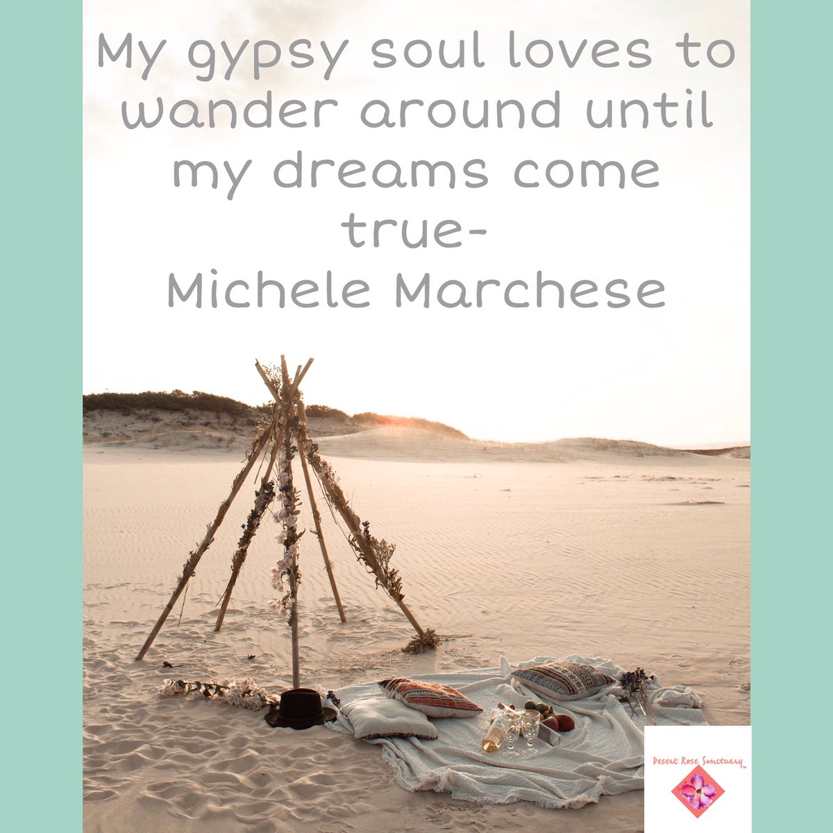 My gypsy soul loves to wander around until my dreams come true- Michele Marchese #MondayVibes #spiritualawakening #soultribe #BohemianGrove #dreams https://t.co/0bihGbyN5G