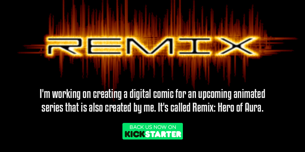 Remix: Hero of Aura (Digital Comic & Animation). https://t.co/O7FWcNkKVS @paradise_xen #Kickstarter  #crowdfunding #crowdfund #comic #comicseries  #comicbook #digitalcomic #graphicnovels #animatedseries  #animation #comicnovel #kickstartercomic #comiclover  #graphicalcomic https://t.co/vqS2rJIGJo