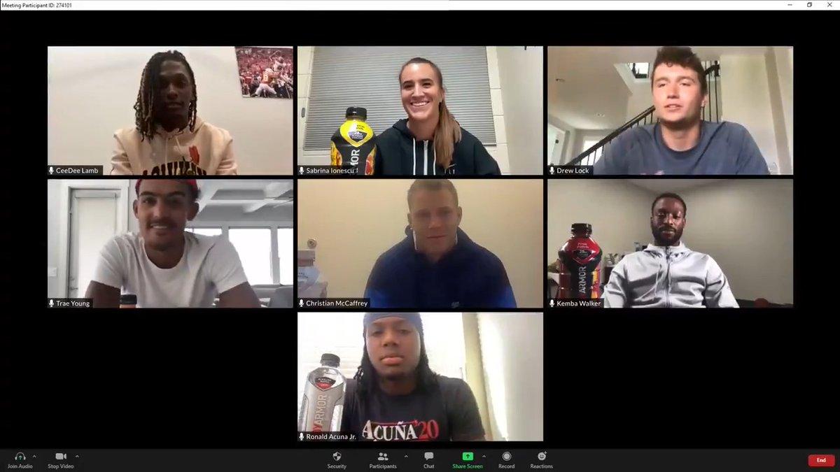 Introducing the newest members of #TeamBODYARMOR 🙌🙌🙌   @CMC_22 @sabrina_i20 @TheTraeYoung @KembaWalker @DrewLock23 @ronaldacunajr24 @_CeeDeeThree 🔥 🔥 https://t.co/Shniro8KR1