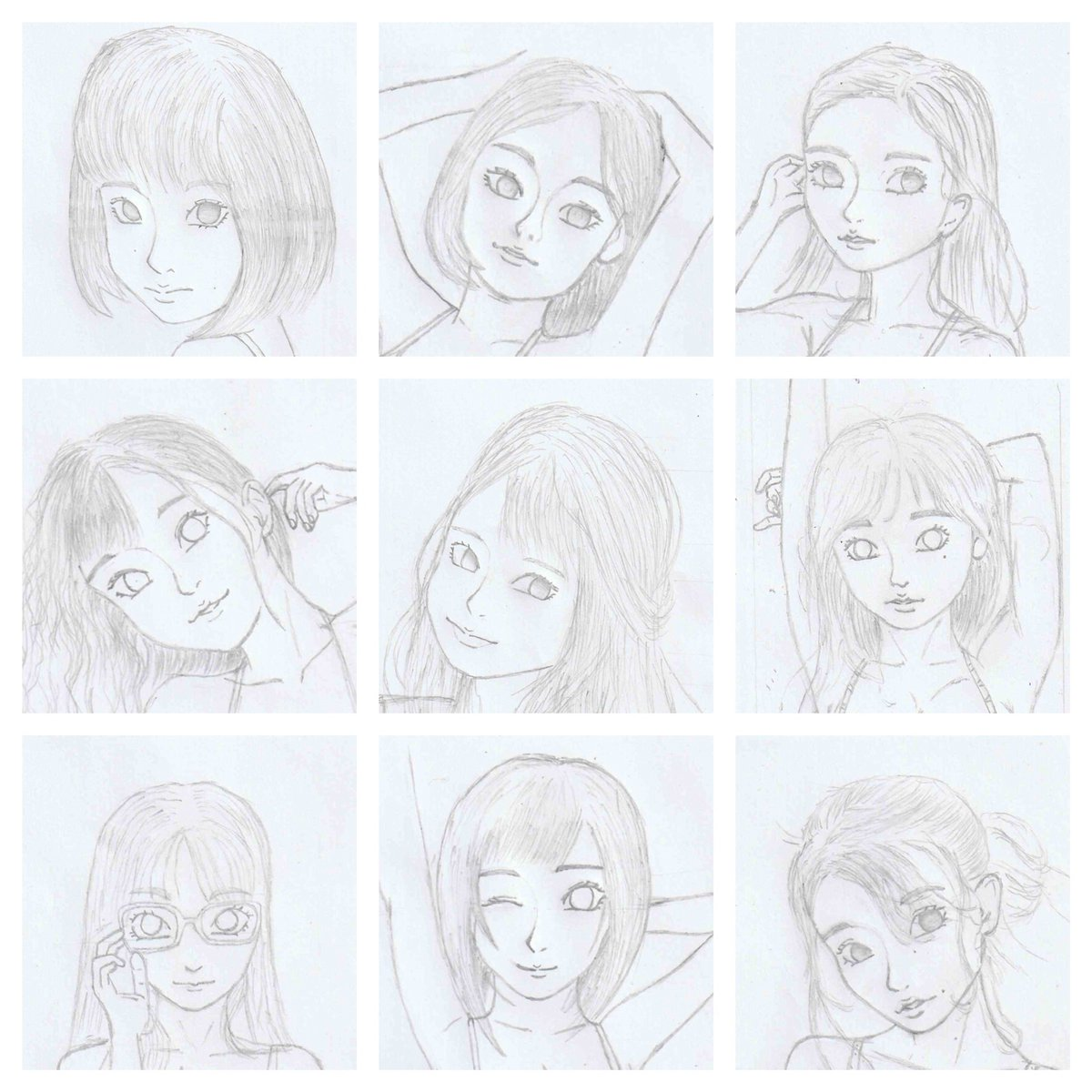 I made this for that #faceyourart thing.  #anime #AnimeArt #ArtistOnTwitter #animeartist #artstyle #ecchi #artist #Sketching #sketch #animestyle #animesketch #animedrawing #お絵かきpic.twitter.com/UXUVyvr5zq