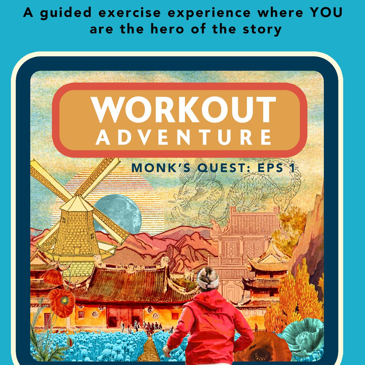 You are a monk on a mission. Grab a rolling die and get ready for an adventurous workout!  (30 minute run with exercises) https://t.co/hPpPxuqaOM #dnd #fitness https://t.co/E4JO8DJRgT