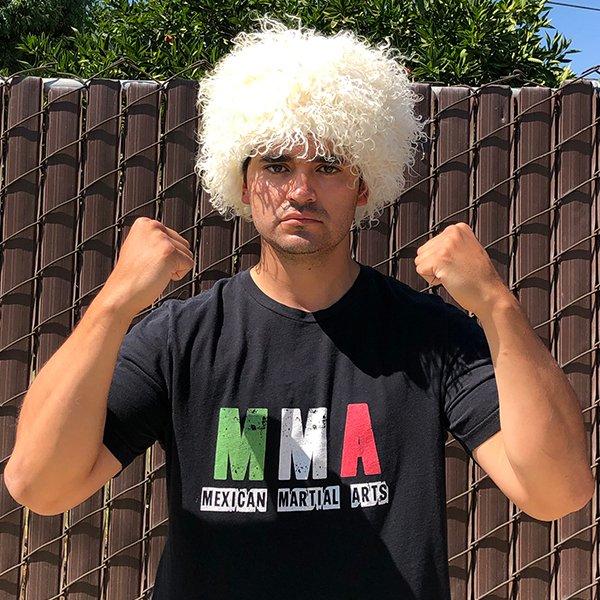 Shoutout to the homie, Hamzah, for sending me a Papakha and a keychain!! No more disco wigs!! 🙌🔥😁 #papakha #KhabibHat #Khabib #khabibnurmagomedov #KHABIBTIME #MexicanMartialArts #MMA https://t.co/scnOoWxzgO