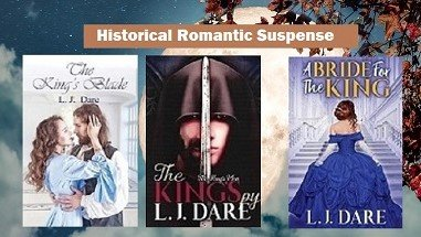 @LJDare1 Cozy up to betrayal, deception & intrigue- Book 2-The King's Spy https://amzn.to/3cWmAmT   Book 1-The King's Blade https://books2read.com/u/4jDk1v   http://viewbook.at/A_Bride_for_the_King …  Ch. 1 excerpts at: https://www.ljdare.com   #AltRead #BVS #WednesdayWisdom #Romancereaders #Bookaddictpic.twitter.com/RYfZFwCpVf