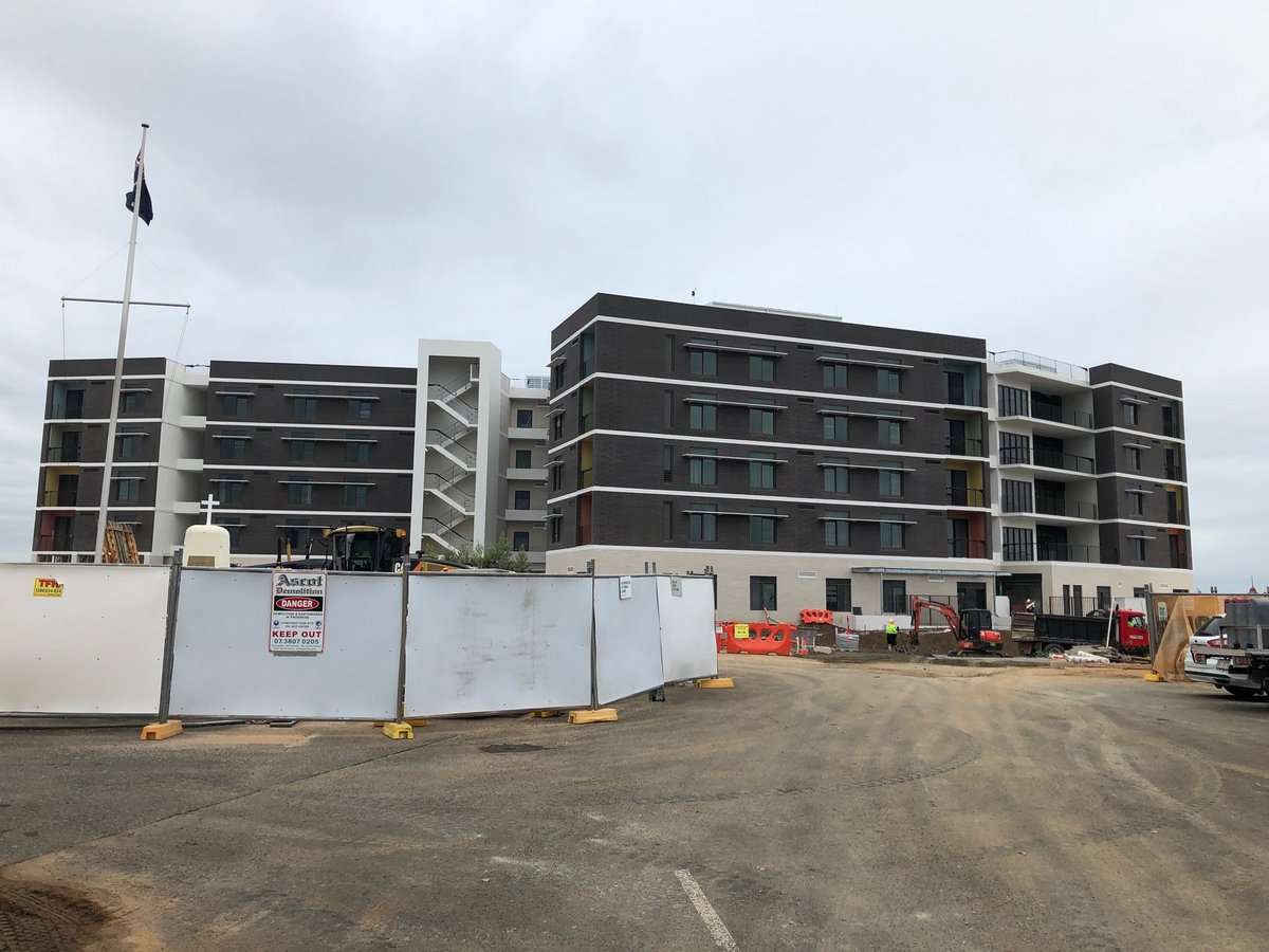 BOLTON CLARKE's new aged care home FERNHILL in King Street Caboolture will open during October 2020. FERNHILL has 162 beds including an 18 bed Memory Support Unit on the Ground Floor. All levels will include options of Premium Plus and Superior rooms.   http://omsgroup.com.aupic.twitter.com/ML6mpL4NE3