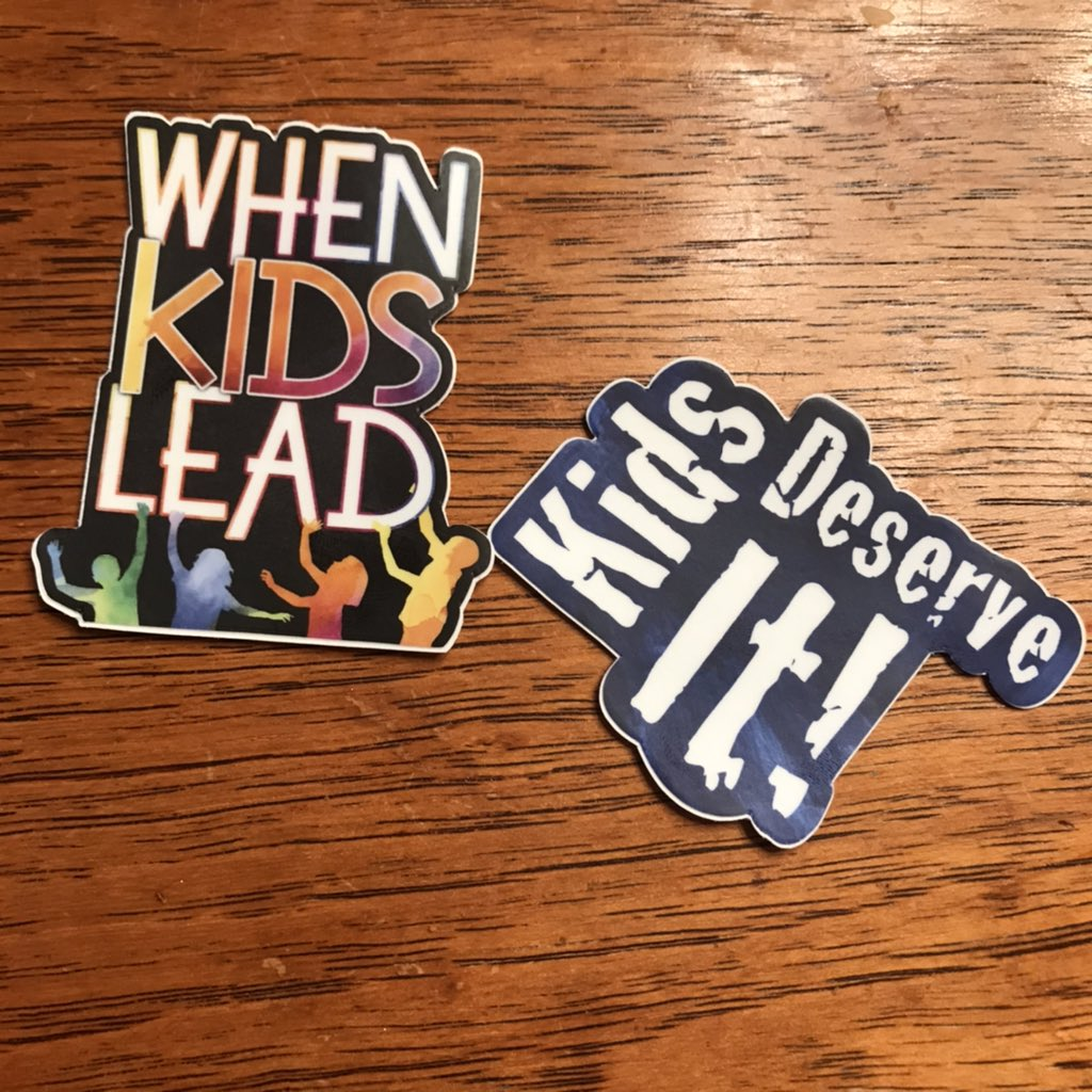 My new stickers are here! Can't wait to read the new book! @TechNinjaTodd #kidsdeserveit