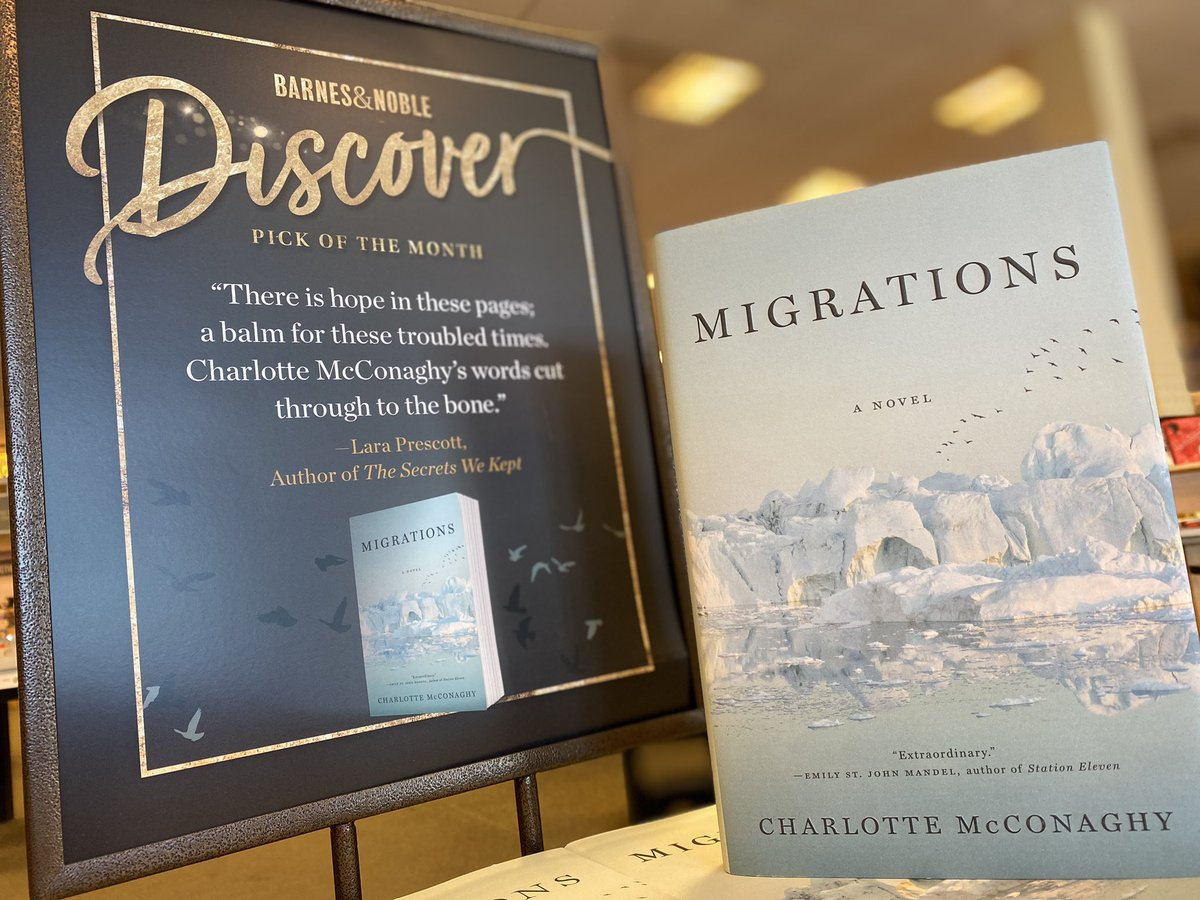 You'll naturally be drawn to our newest #BNDiscover selection #Migrations by @charlottemcconaghy! Stop by to pick up your color today! #discovernewwriters #newreleasetuesday #newbooks #bookbirthday #readbooks #buybooks #visitabookstore #shoplocal #sacramento #natomas https://t.co/LHRzHsVkaZ
