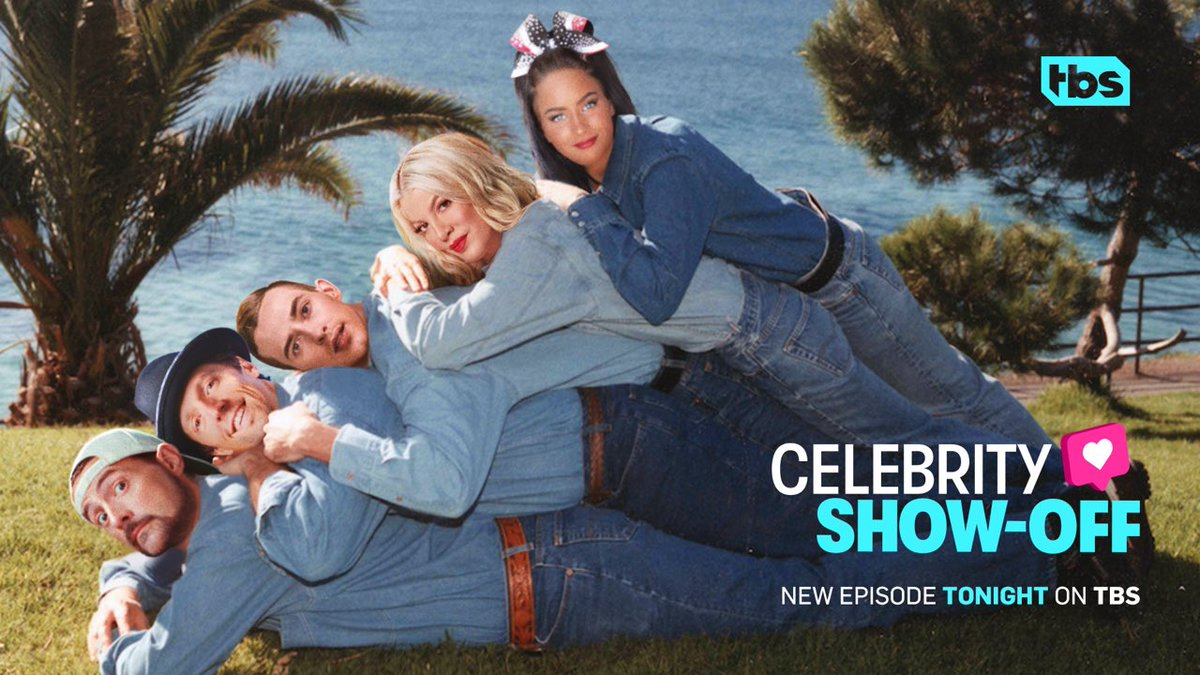 New @celebshowoff episode tonight! Tune in at 10/9c on @TBSNetwork. #celebshowoff
