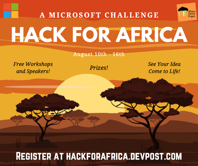 Hack for Africa challenge Microsoft African Library Project