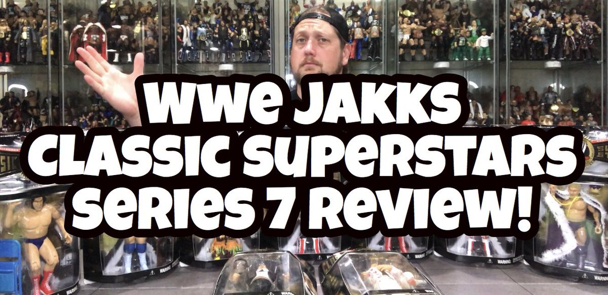 WWE Jakks Classic Superstars Series 7 Review! Andre The Giant, Harley Race, Ultimate Warrior and more! https://t.co/3TAjODdotq @MajorWFPod @SilverIntuition @doingthefavor @FullyPoseable @ChickFoleyShow @runinpodcast https://t.co/R3mQrxIk2z