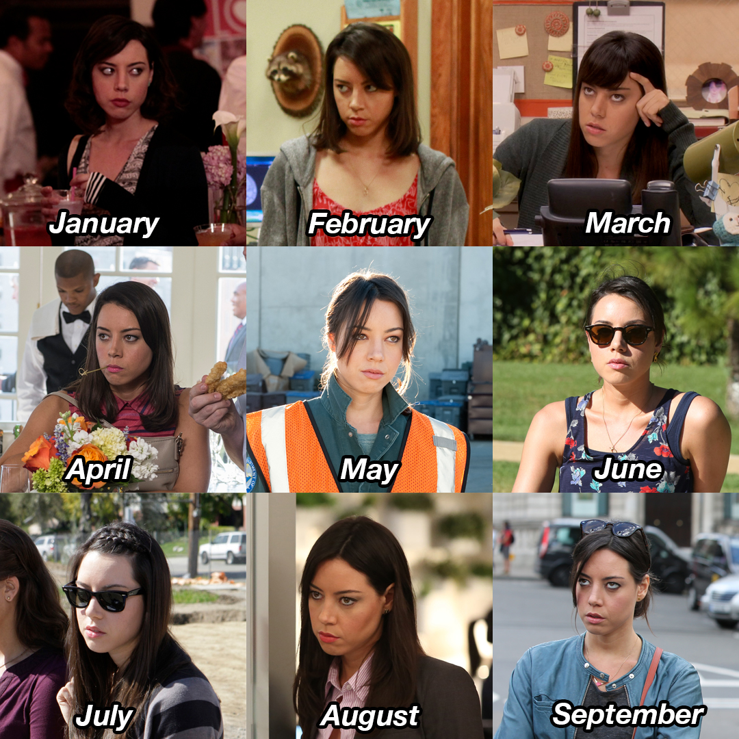 We're all April Ludgate now.