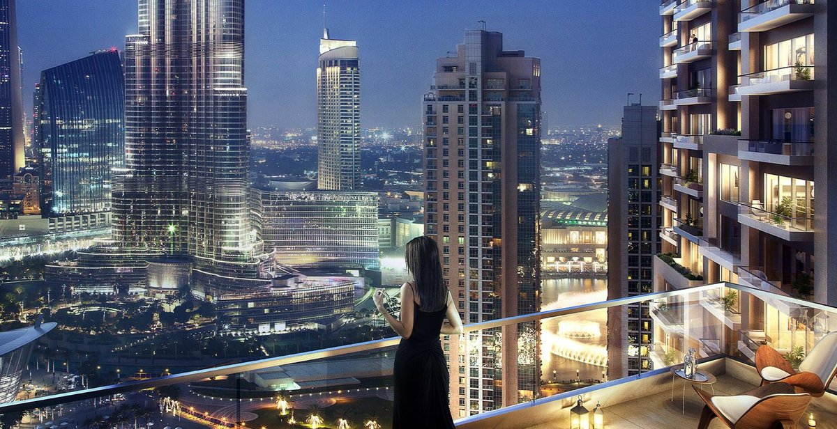 Explore the last few units in Downtown Dubai, Act One Act Two. Nestled in the heart of Downtown Dubai's Opera District offers fantastic views of The Dubai Fountain and Burj Khalifa. Prices from AED 1,512,888   @emaardubai  #traveldubai #expo2020 #dubai pic.twitter.com/xx7qTlk2PJ