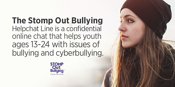 Crisis counselors are the heroes of the #STOMPOutBullying #HelpChat Line. They answer the calls. If you're struggling with some tough emotions right now, don't hesitate to reach out to be connected to a trained, caring counselor. We're here for you:https://t.co/qMr0PQOd3S https://t.co/MbxyzcQvwY