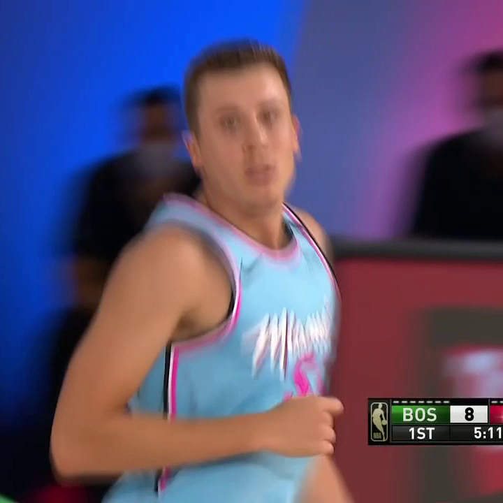 Duncan Robinson was on fire for the Heat with five triples 🔥 https://t.co/OCwpTjTiZr