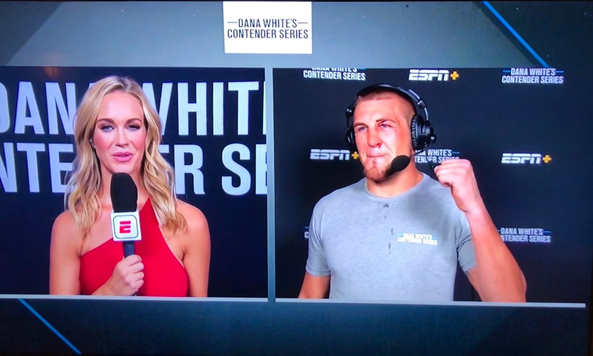 MAKING HISTORY, BABY!!!!!! @thehanyakdj breaks the record for most significant strikes in the light heavyweight division of @danawhite @ufc #ContenderSeries!!!!!!  • WELCOME TO THE UFC •   #guesswhosback #backagain #DWCS https://t.co/YP2Eg8X45p