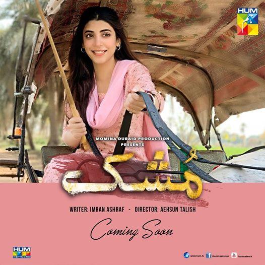 Presenting Urwa Hocane in the upcoming drama serial #Mushk. Coming Soon on #HUMTV!!  #UrwaHocane #ImranAshraf #MomalSheikh #AehsunTalish #RazaTalishpic.twitter.com/SzC2Htj5i4