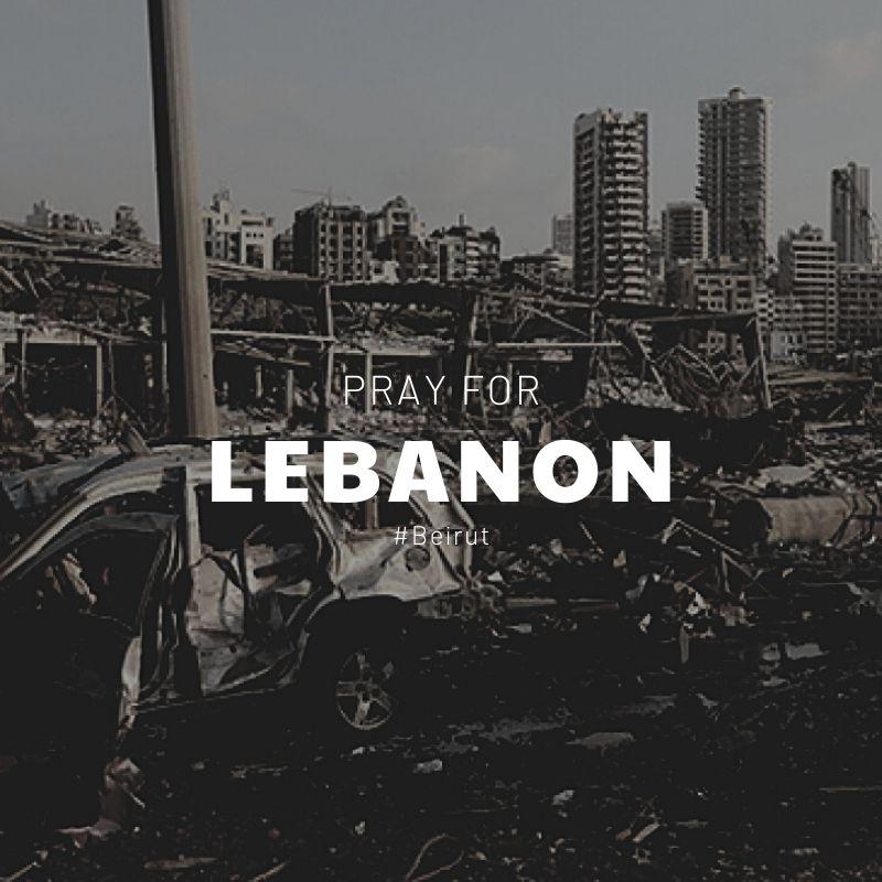 Beyrut limanında meydana gelen patlamada hayatını kaybedenlere Allah'tan rahmet, Lübnan halkına başsağlığı diliyoruz. 🙏 -  #Prayforlebanon #Beirut https://t.co/ZqcAAfM2JB