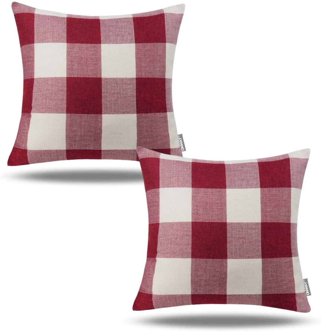 Check out this deal  50% OFF on Plaid Pillows  Price: $10.99 Link:    #ROTODEALS