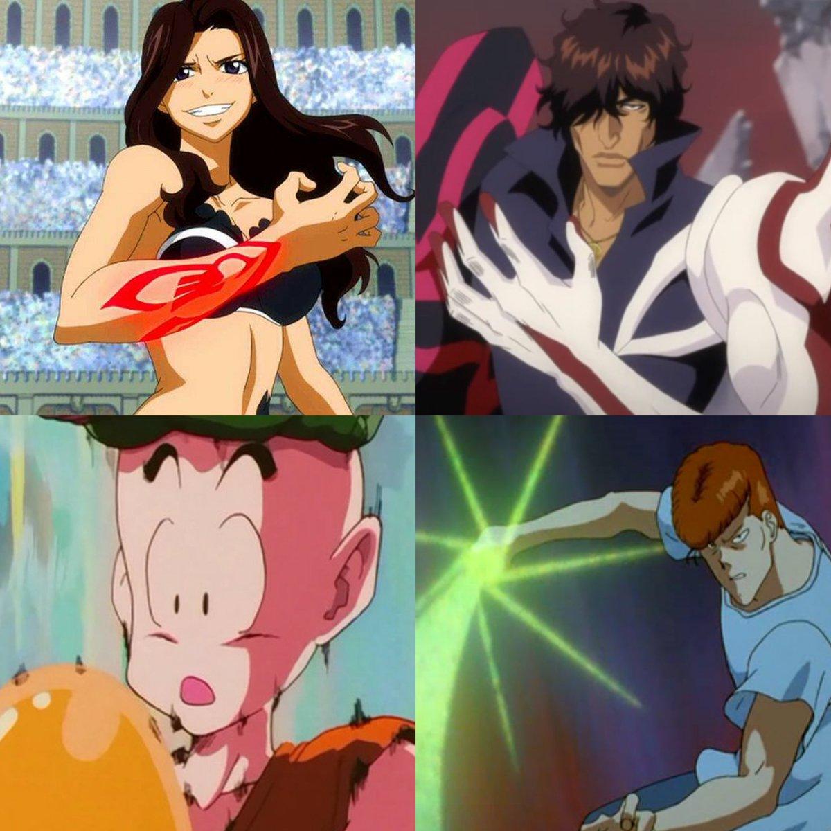 #FairyTail #BLEACH #yuyuhakusho #DragonBallZ #DragonBallSuper #animeselcaday #anime #AnimeArt #AnimeMemes  Anime characters who got power ups only to get playedpic.twitter.com/VXri0guDDy