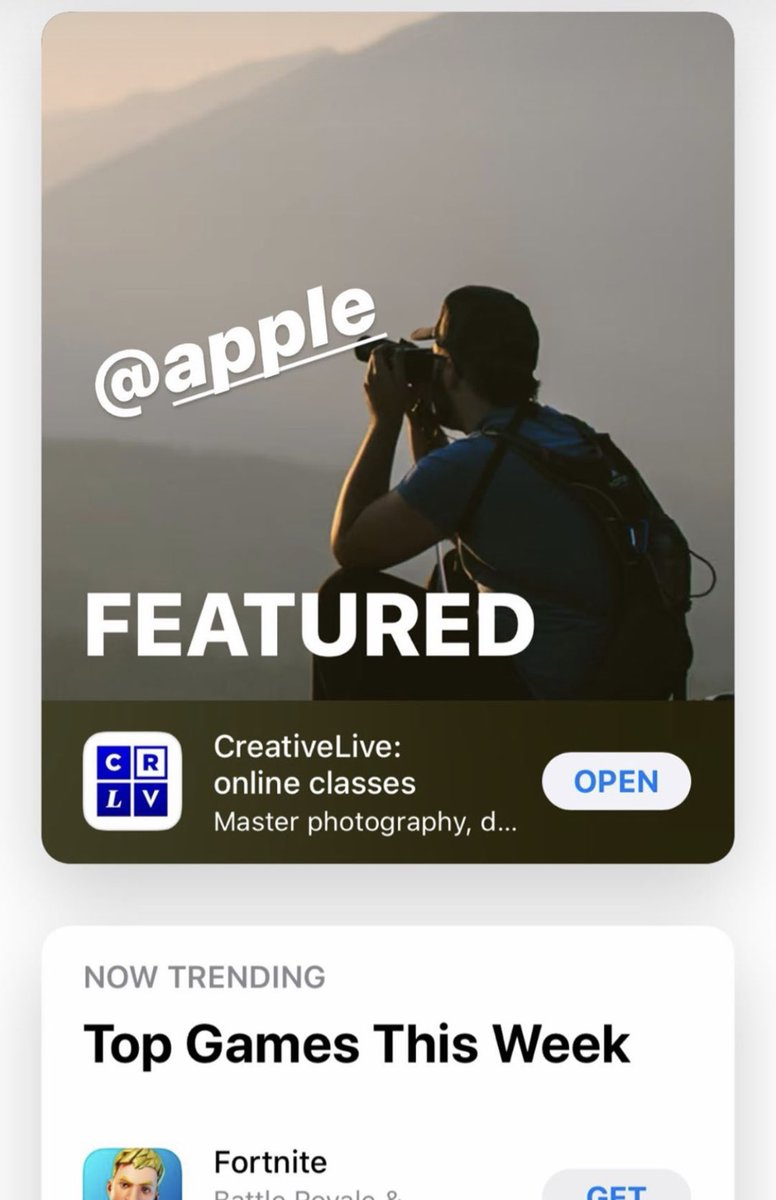ICYMI 👇 @Apple App of the Day 💪💪 https://t.co/WGYX9IBoU3