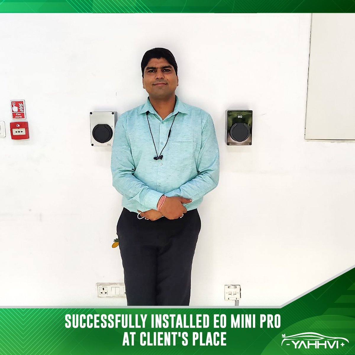 EO Mini Pro successfully installed at the client's place.  .  .  Follow for more details. #happyclients #electricvehiclecharger #evchargingstations #evcharging #driveelectric #electricvehiclecharging #eochargerpic.twitter.com/sWzKTHVgyz