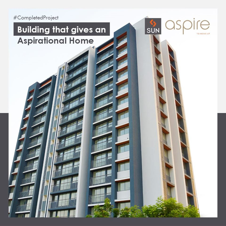 Through Sun Aspire, we have built Aspirational Homes which made beginnings better and dreams bigger. ReadMore:https://www.facebook.com/SunBuildersGroup/ …  #SunAspire #Ahmedabad #Residential #SunBuildersGroup #Gujarat #RealEstate #SunBuilders #CompletedProjectpic.twitter.com/uk27Htjca3
