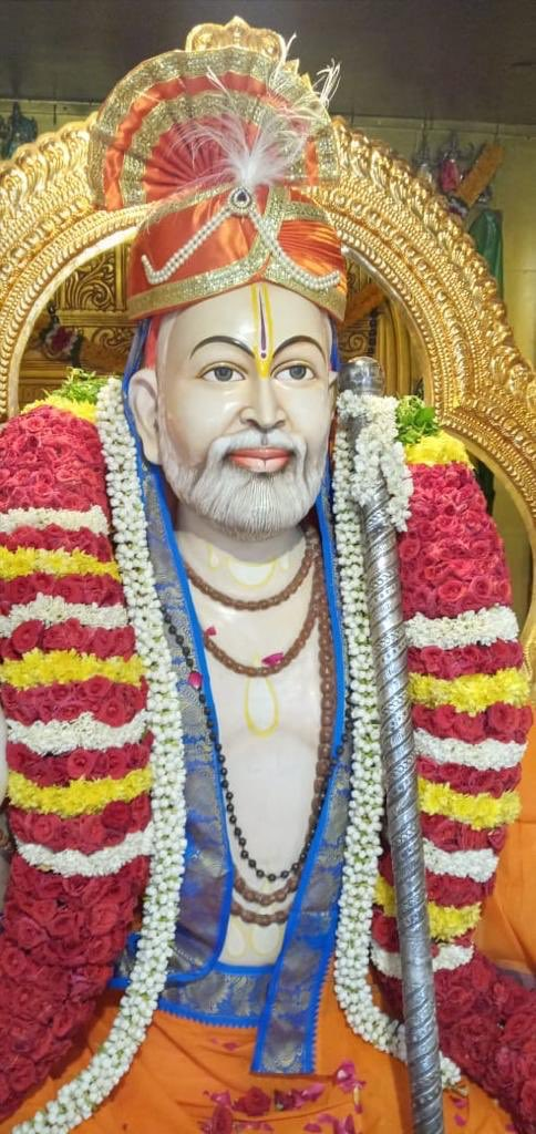 Hi Friends and Fans. Today is Raghavendra Swami Jeeva Samadhi day. One more special thing, Raghavendra Swami is Ramar devotee. Today Ramar Temple Bhoomi Pooja is happening on the same day. On this happy day, I pray Raghavendra Swami for all your dreams to come true 🙏🏼🙏🏼🙏🏼🙏🏼