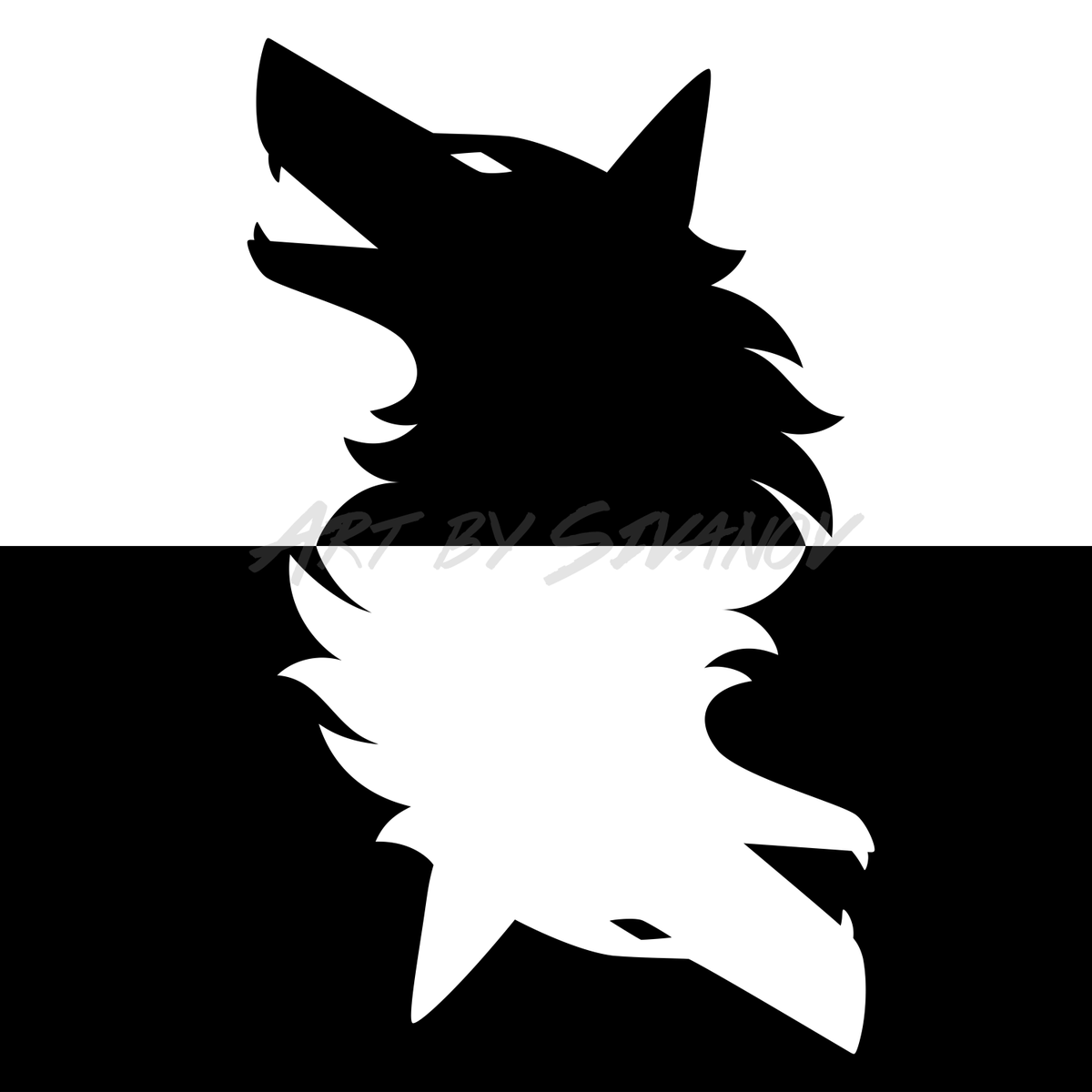 Howling Wolf Yin Yang Art by me  A black and white artwork of two wolves howling.  Available on Redbubble: https://www.redbubble.com/i/magnet/Wolf-Yin-Yang-by-S-ivanov/54184121.FF85S…  #WolfYinYang #YinYang #Wolf #wolves #Whitewolf #blackwolf, #feedtherightwolf #wolflovers #animals #wildlife #howlingwolf #digitalartpic.twitter.com/hrvDUXG6cw