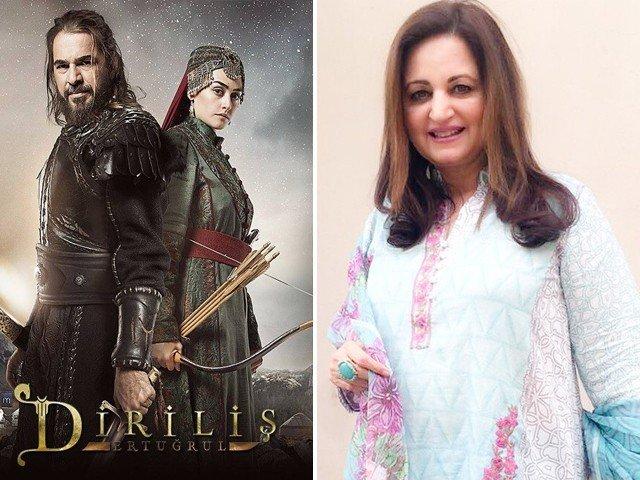 فضول رومانوی ڈراموں کے بجائے ارطغرل غازی جیسے ڈرامے بنانے چاہئیں، ، لیلیٰ زبیری #ErtugrulGhazi #Pakistan #Pakistaniactress pic.twitter.com/Pfu4HY3kK2