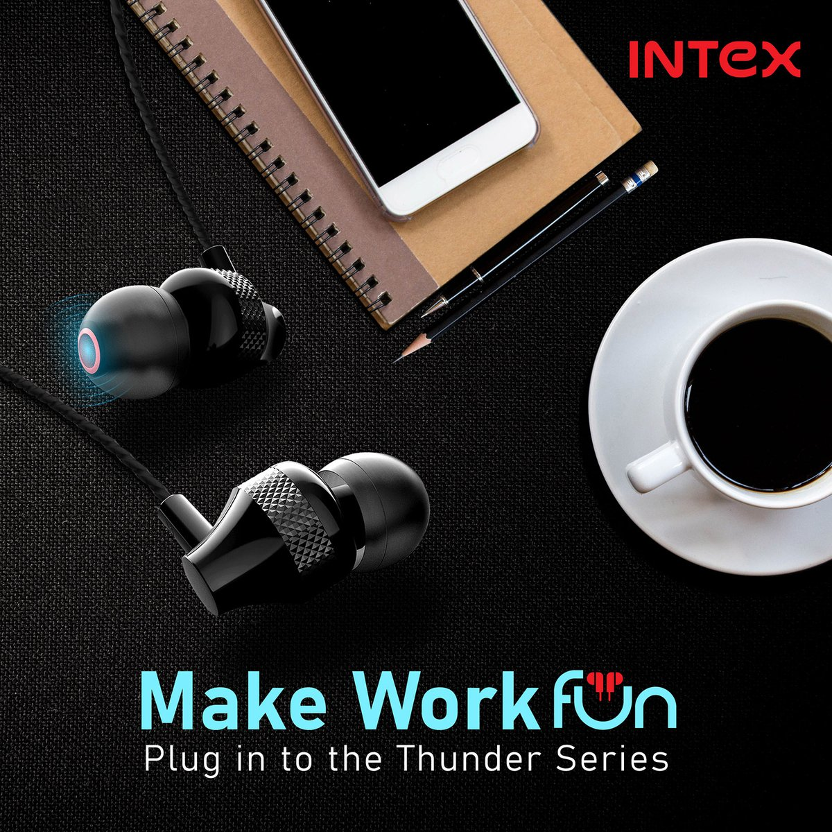 #WorkBlues rushing in? Plug in the Intex #ThunderSeries and transform your work-style!  Know more: http://www.intex.in   #IntexTechnologies #TechNews #technology #technologynews #technologyofindia #Lifestyle #TrendUpdates #LatestInTech #NewLaunchpic.twitter.com/q7MdIzldVF