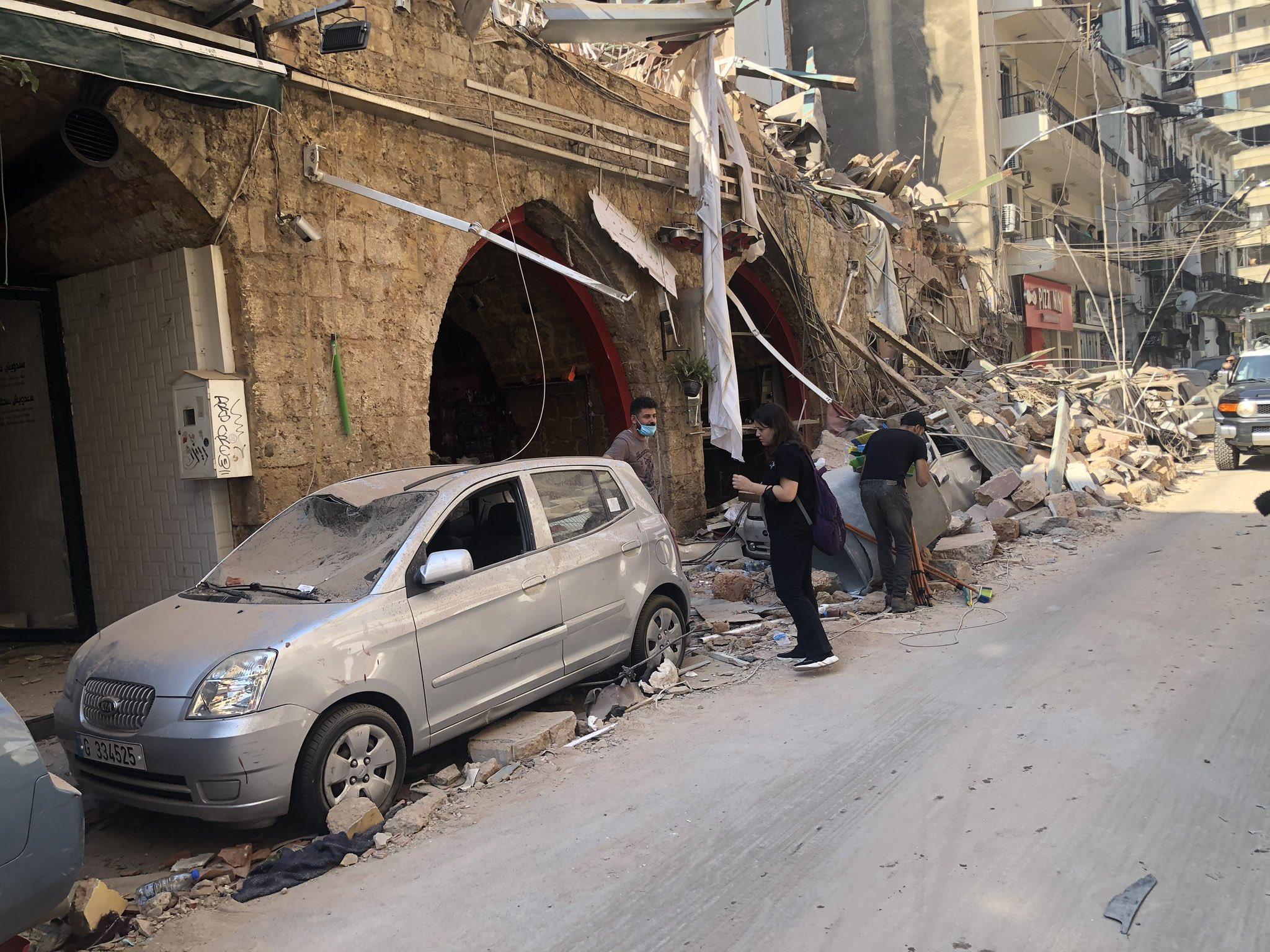 Zeina Khodr On Twitter Livelihoods Destroyed Beirut Blast