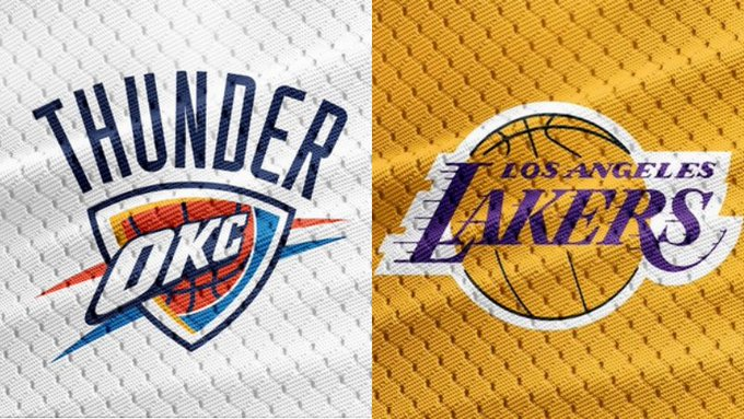 【NBA直播】2020.8.6 06:30-雷霆 VS 湖人 Oklahoma City Thunder VS Los Angeles Lakers LIVE