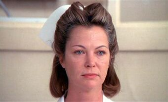 Exhausted is how I read this look she gives McMurphy when the meeting derails. It's great as a layer to McMurphys story.pic.twitter.com/Tze0ktKNx2