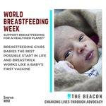 Image for the Tweet beginning: World #Breastfeeding Week  Support breastfeeding