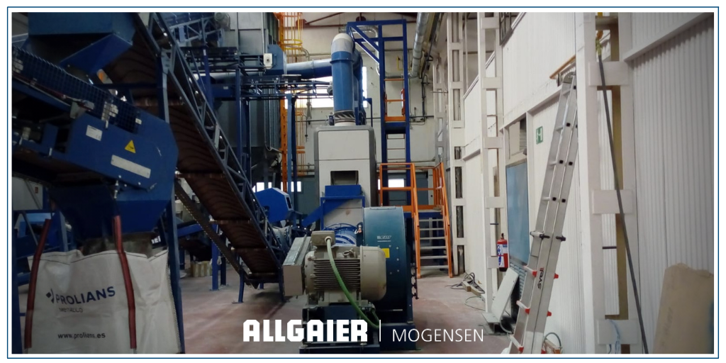 En Allgaier Mogensen contamos con una #planta piloto en nuestras instalaciones de Getafe que ponemos a disposición de nuestros clientes para la realización continua de ensayos y #pruebas para la #optimización de productos y #procesos.  Ver más en https://t.co/P3CRkFE5rR https://t.co/gNxqhPVqF4