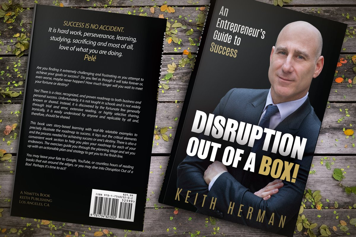 My first book! FREE, Today and tomorrow ONLY, at Amazon! Download the ebook here: https://lnkd.in/epCyce9 Kindly return to Amazon and leave a review for others! #entrepreneurs #Entrepreneurship #mindsetiseverything #BusinessIntelligence #innovation #disruption #businessgrowthpic.twitter.com/zei0AImgu9