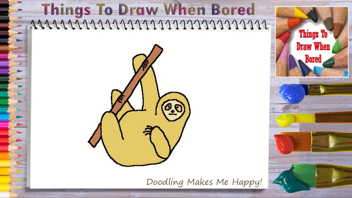 How To Draw A Sloth ( Things To Draw When Bored - A Sloth )  *** PLEASE: Share This Link!  *** https://youtu.be/qqL-vxN30Bs  #sloth #sloths #slothlife #slothlove #slothlover #slothnation #slothmemes #howtodoodle #howtodraw #thingstodraw  #drawingaday #drawingdaily #drawingeverydaypic.twitter.com/eGbtINnXST