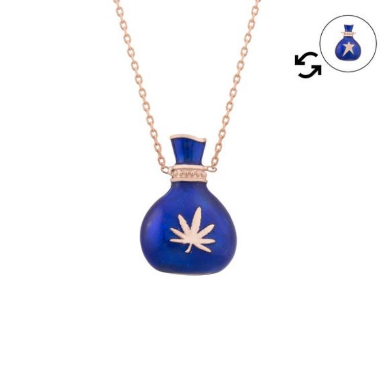 Excited to share  #etsy shop: 925 Sterling Silver Necklace, Cannabis Bag, Marijuana, #silver #blue #pendant #925sterlingsilver #birthday #gift #cannabis #cannabiscommunity #marijuana #marijuanamovement #marijuanagram #oneofakind #silvernecklace  https://etsy.me/3guqKVjpic.twitter.com/puv8oTh2TV